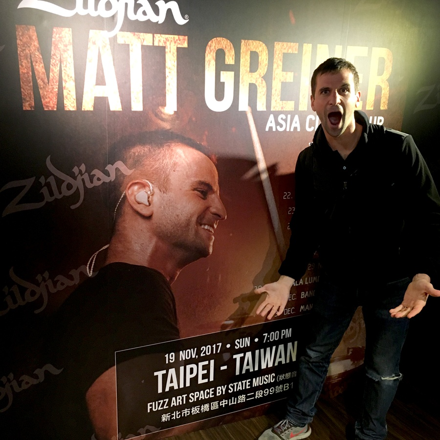 b-Matt with Giant Poster Taiwan 2.jpg