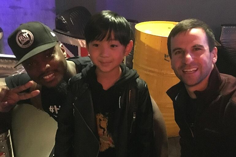 b-Rashid & Matt with young drummer Hangzhou China.jpg