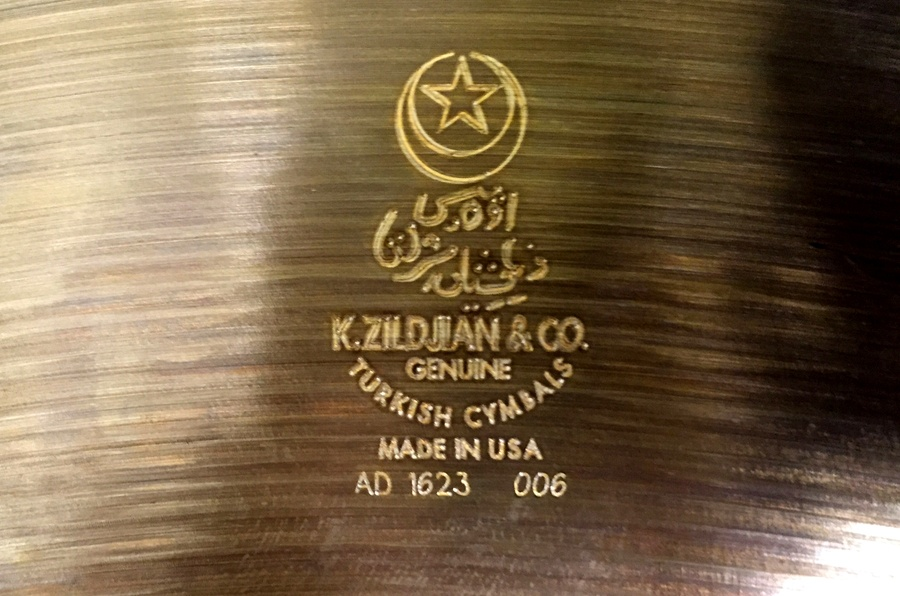 how to tell the age of your Zildjian cymbal from the serial number